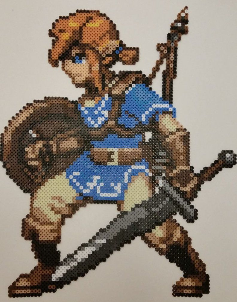 perle hama zelda breath of the wild