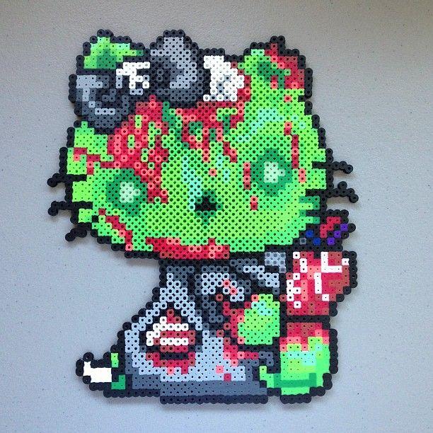 perle hama zombie
