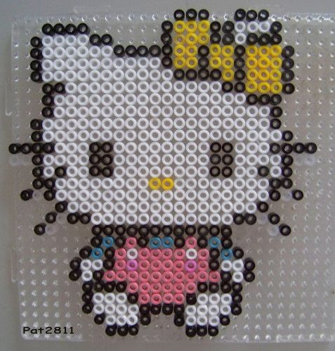 perles a repasser hama hello kitty