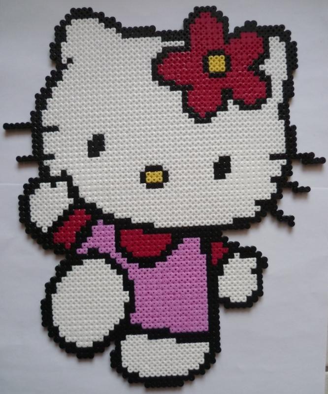 perles a repasser hama hello kitty