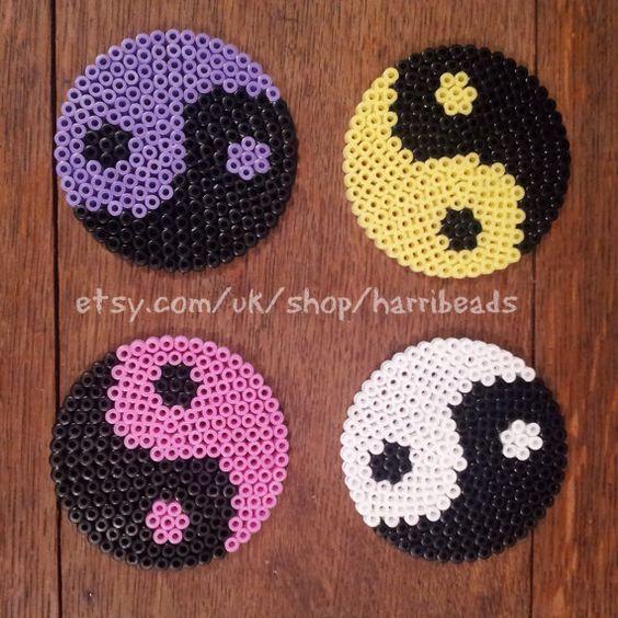 yin yang perle hama
