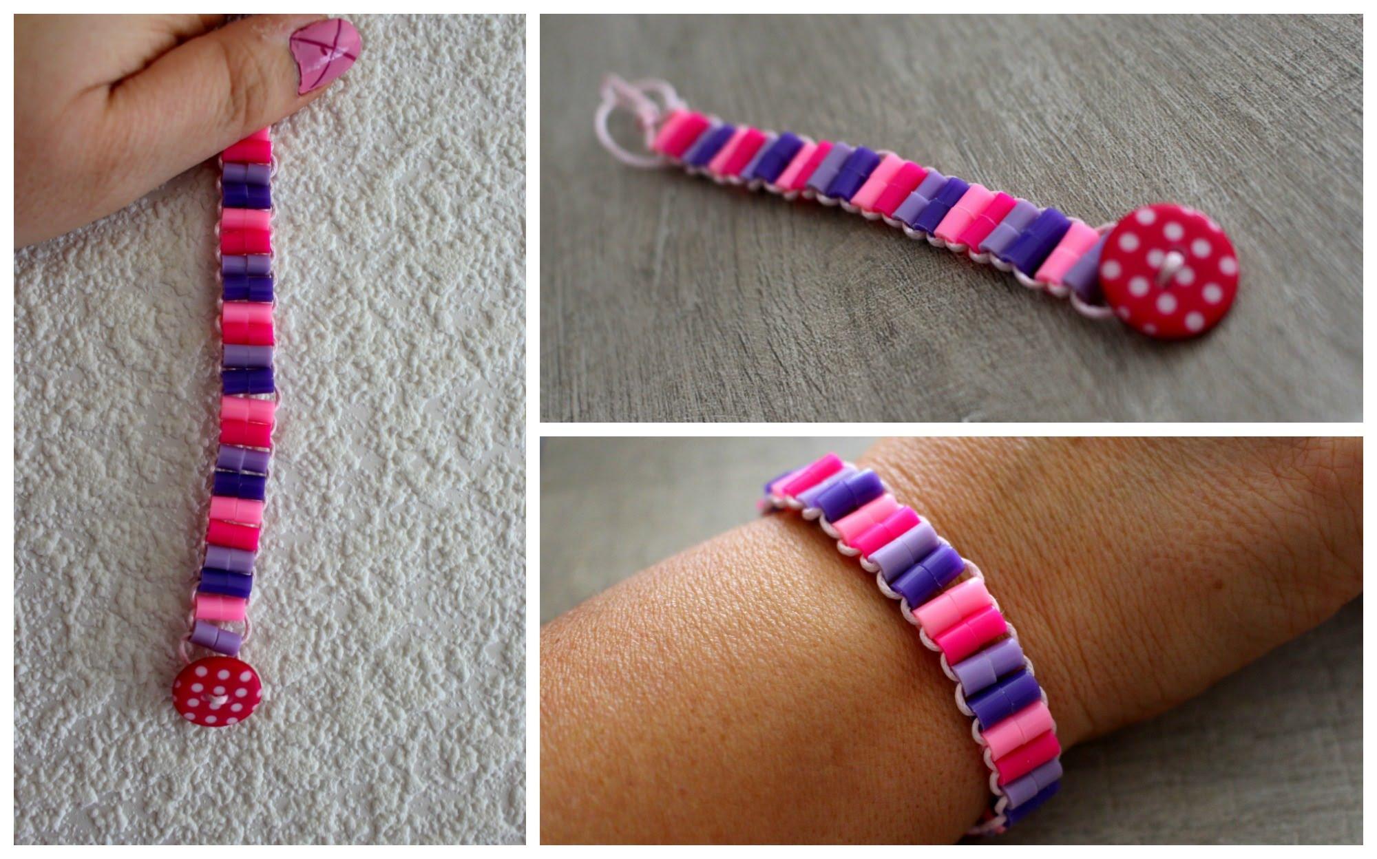 bracelet en perle hama