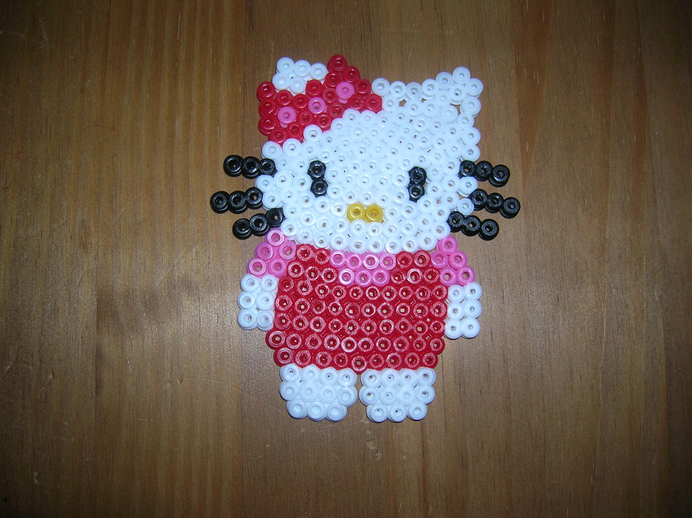 modele de perle a repasser hello kitty