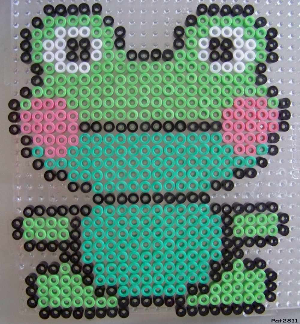 modele grenouille perle a repasser