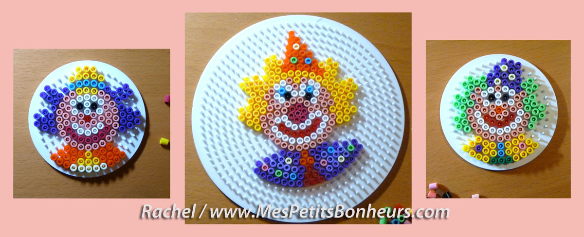 modele perle a repasser clown