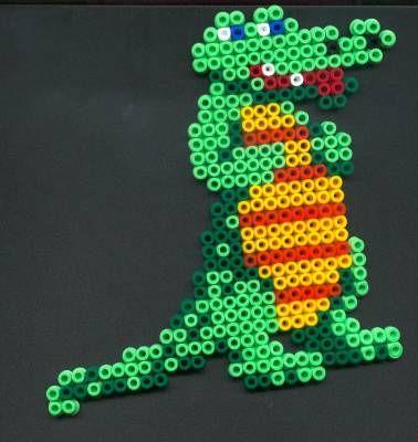 modele perle a repasser crocodile