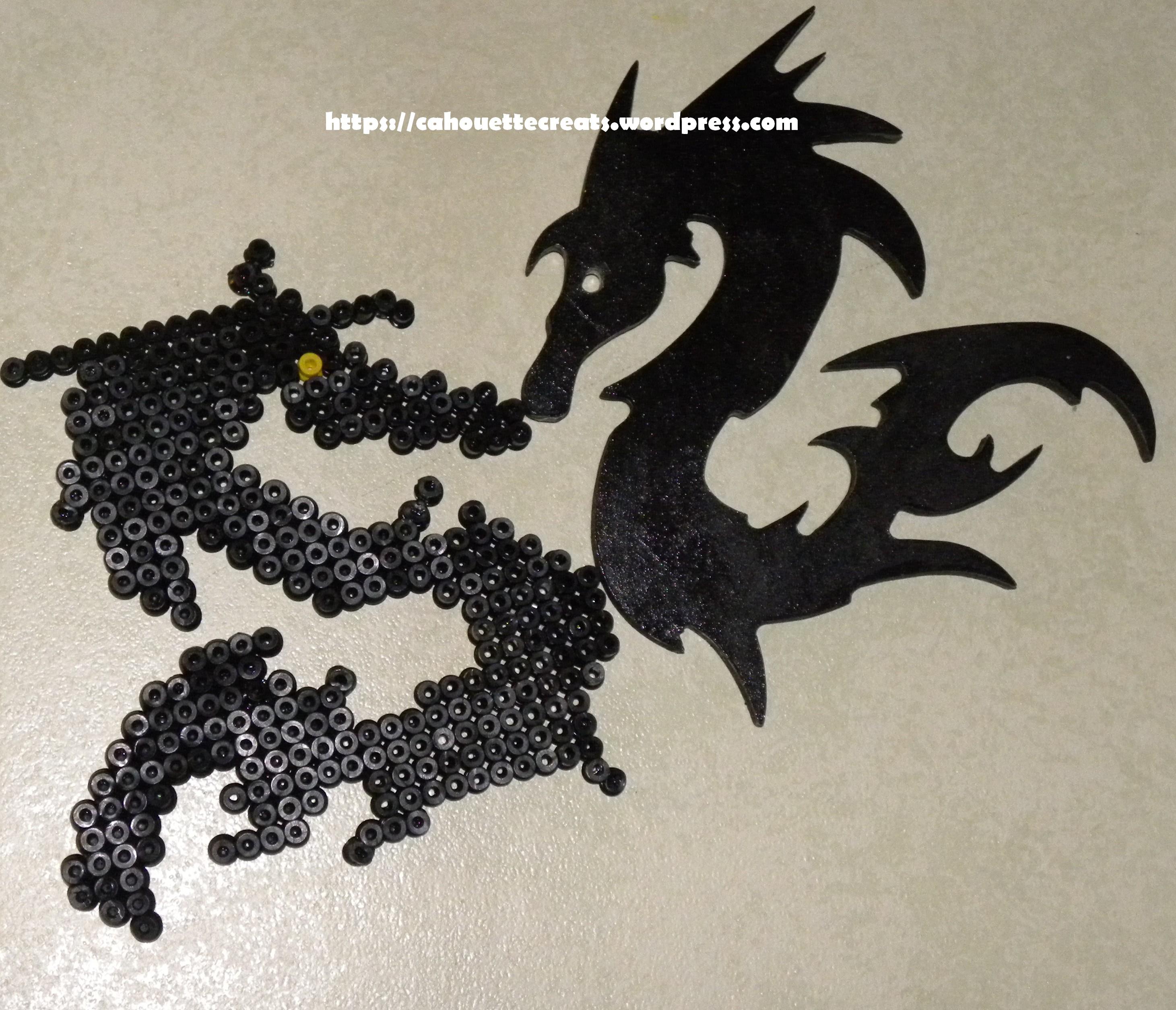 modele perle a repasser dragon