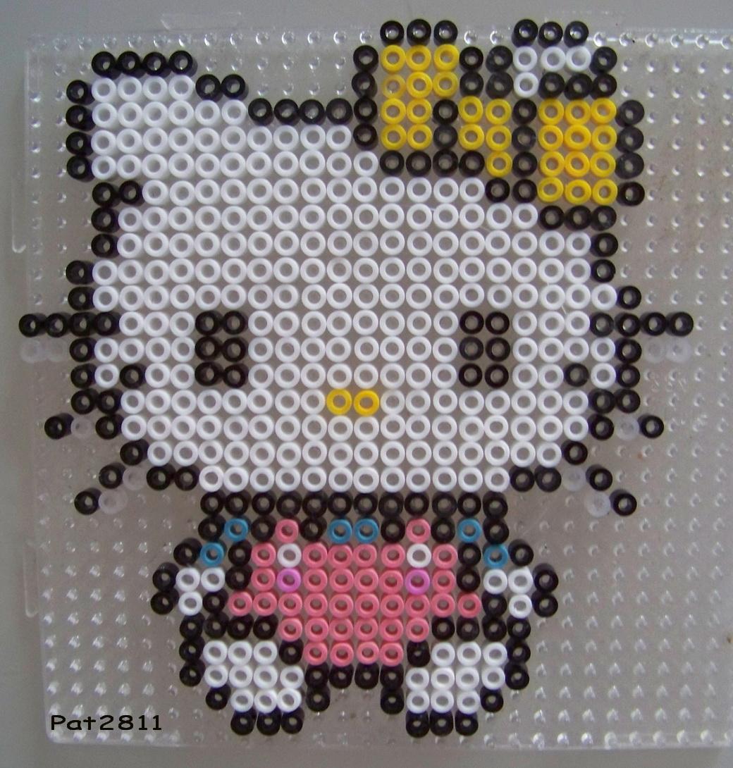 modele perle a repasser hello kitty