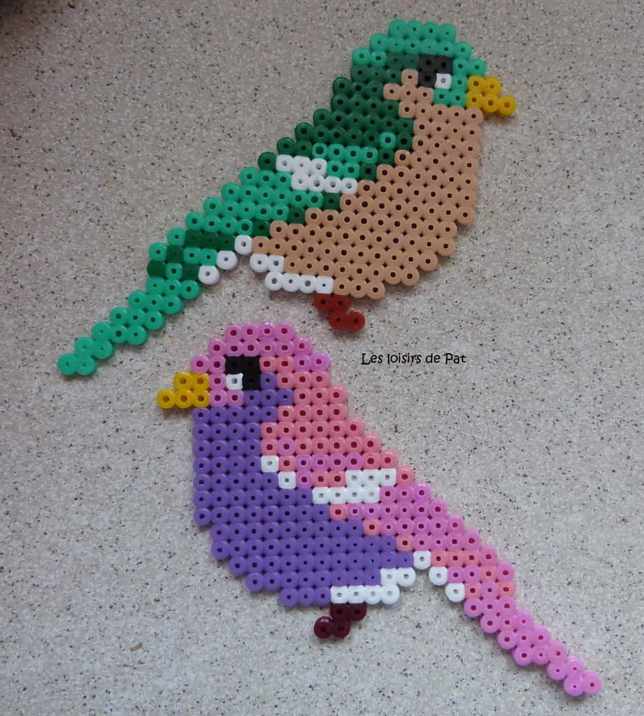 modele perle a repasser oiseau