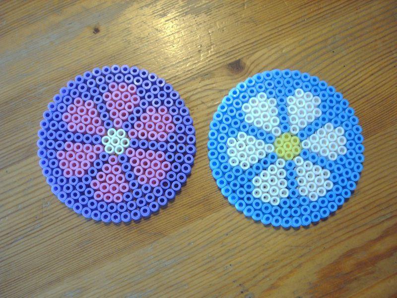 modele perle a repasser plaque ronde