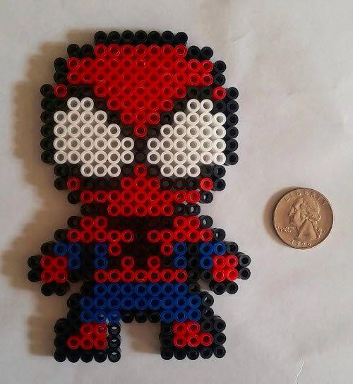 modele perle a repasser spiderman