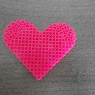 modele perles a repasser coeur