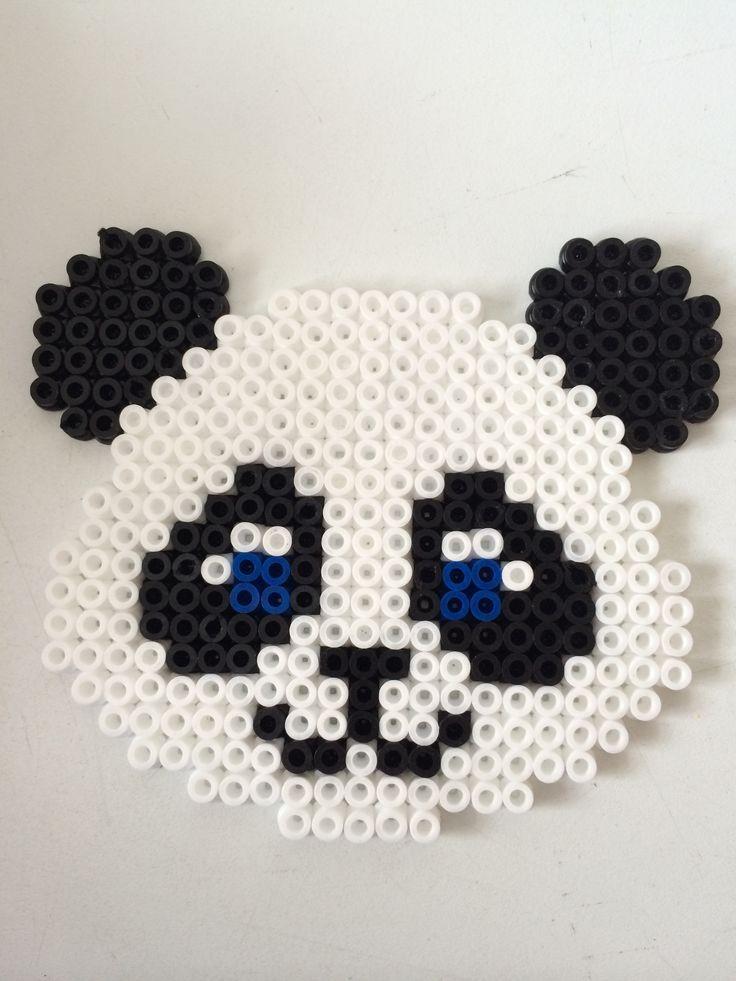 panda en perle a repasser