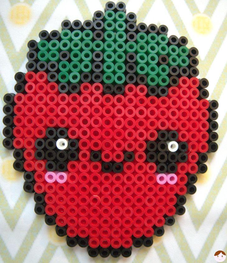 perle a repasser fraise