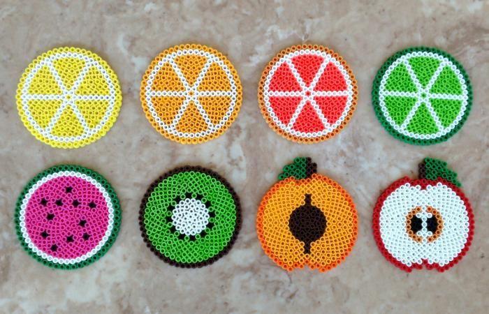 perle a repasser fruit