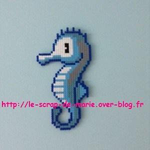 perle a repasser hippocampe