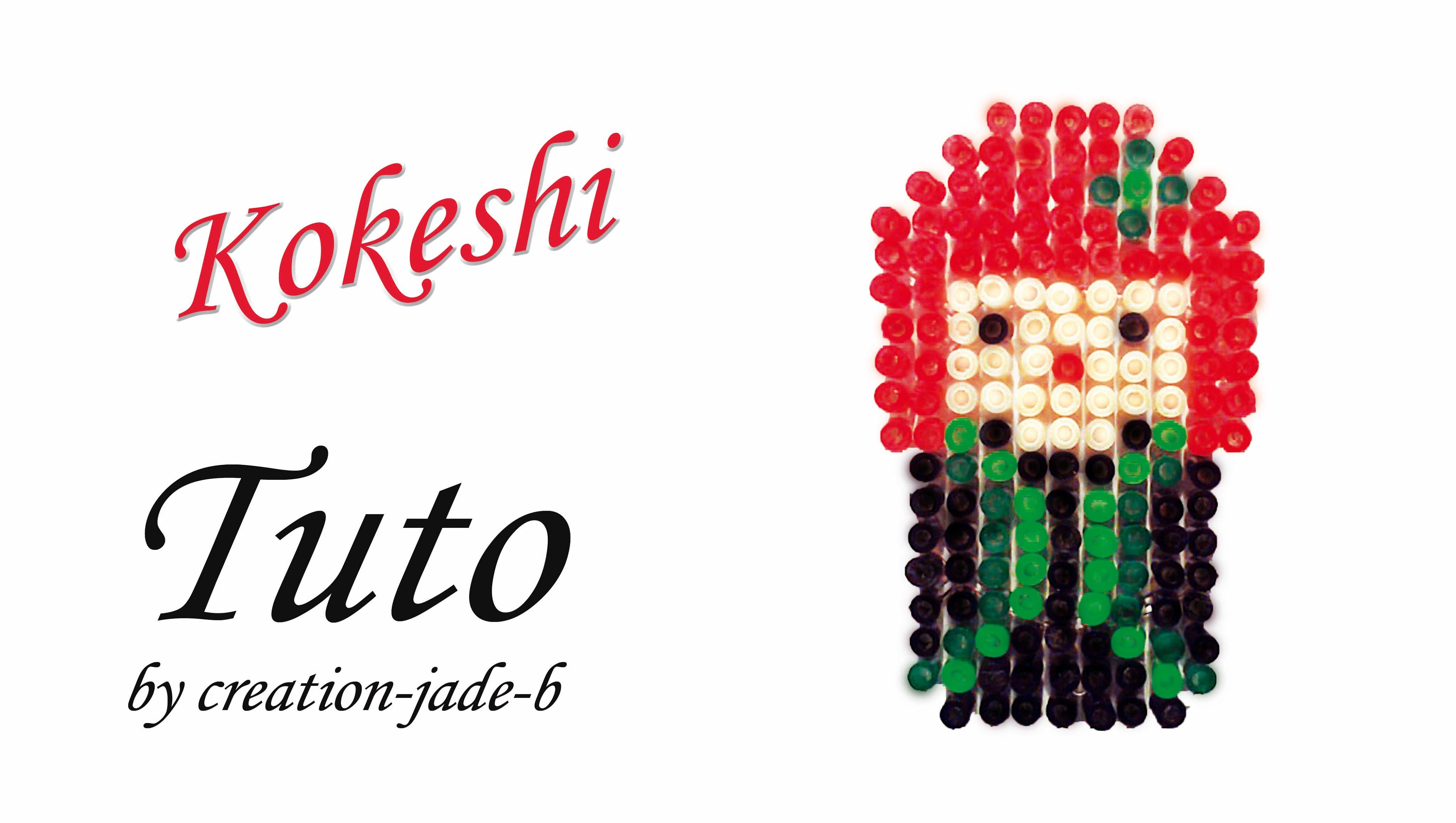 perle a repasser kokeshi