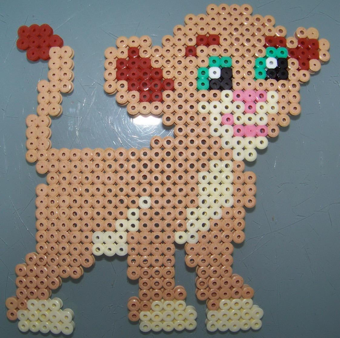 perle a repasser lion