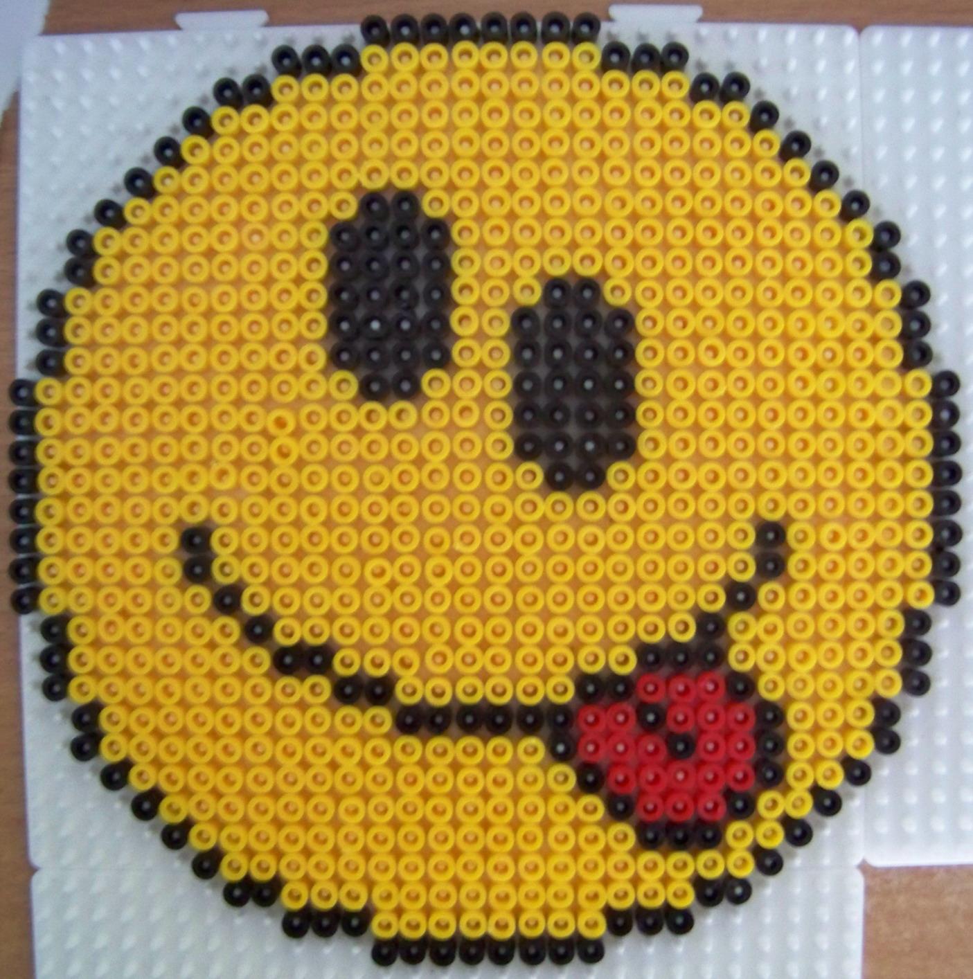 perle a repasser smiley