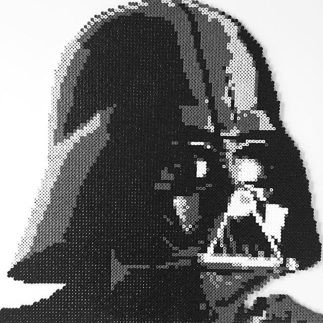 perle a repasser star wars dark vador