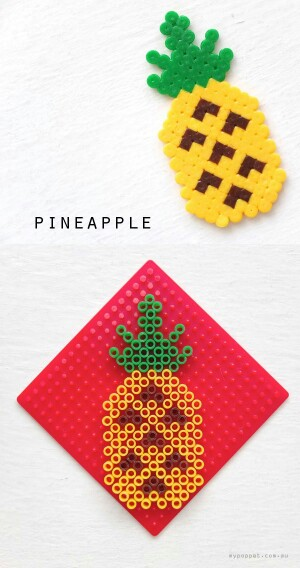 perle hama ananas