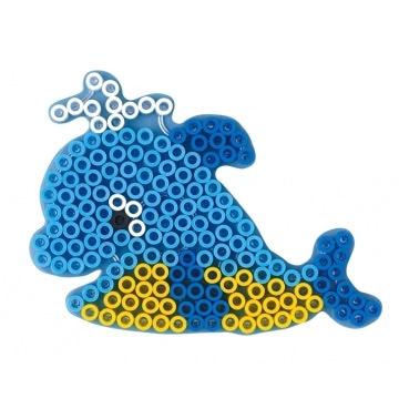 perle hama baleine