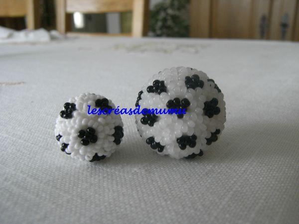 perle hama ballon de foot