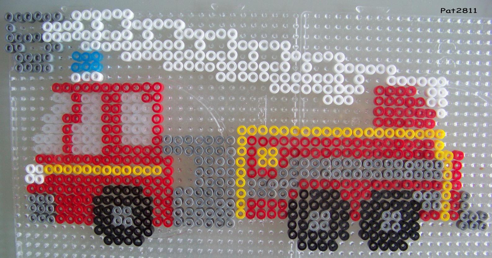 perle hama camion