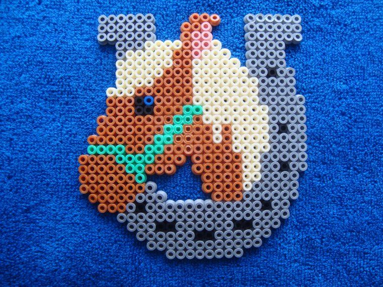 perle hama cheval