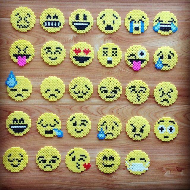 perle hama emoji
