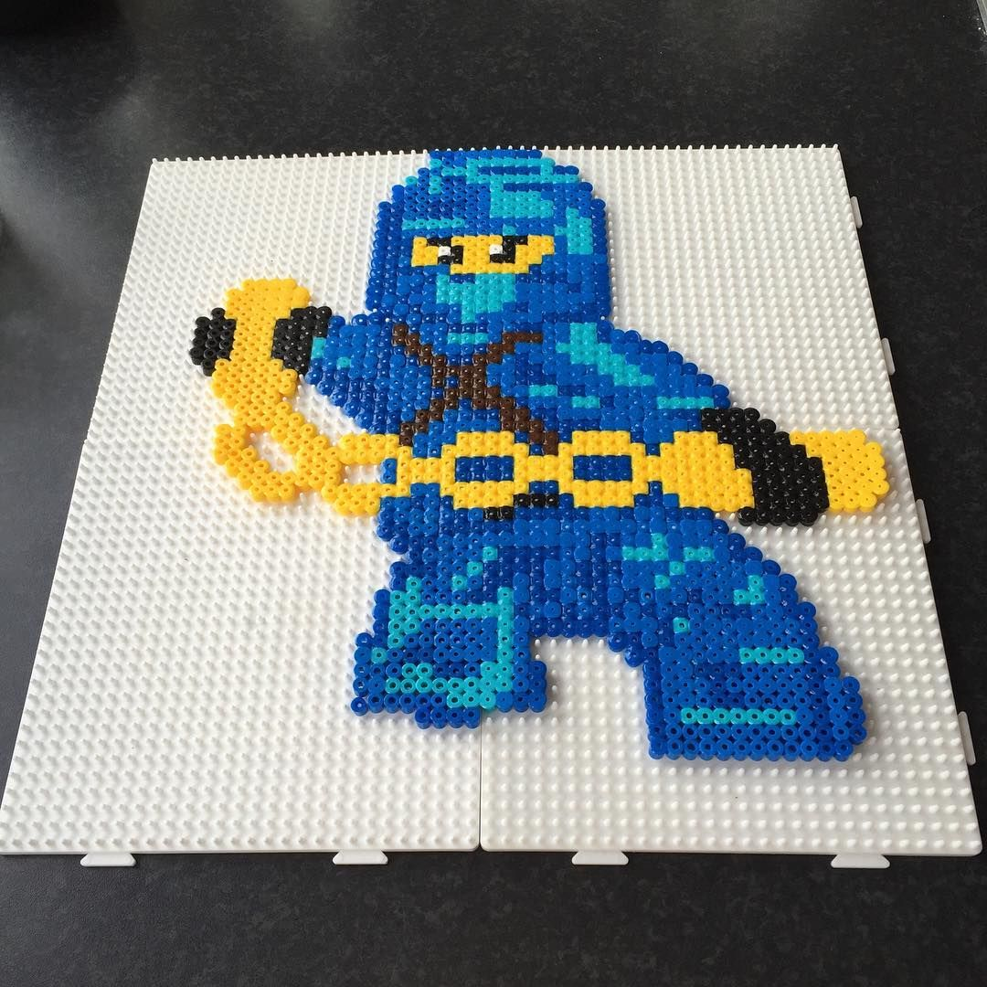 perle hama lego ninjago