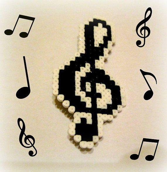 perle hama note de musique