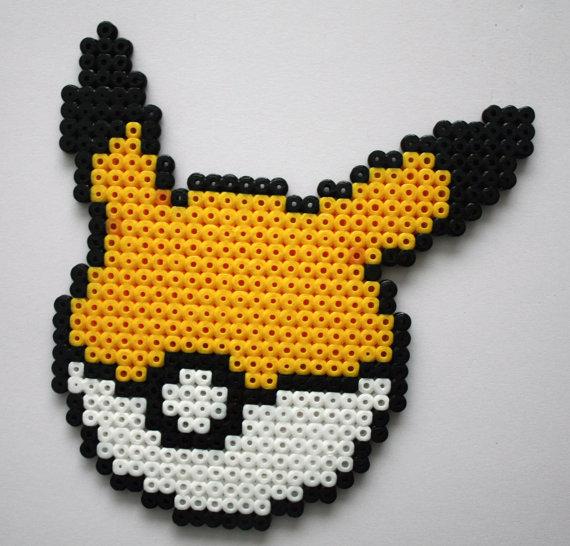 perle hama pikachu