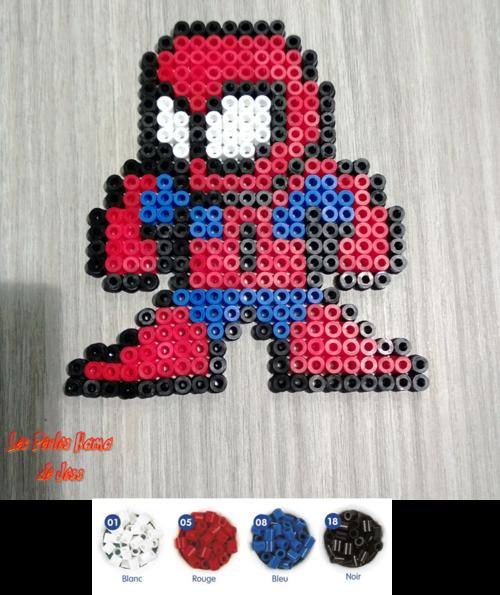 perle hama spiderman