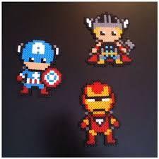 perle hama super heros