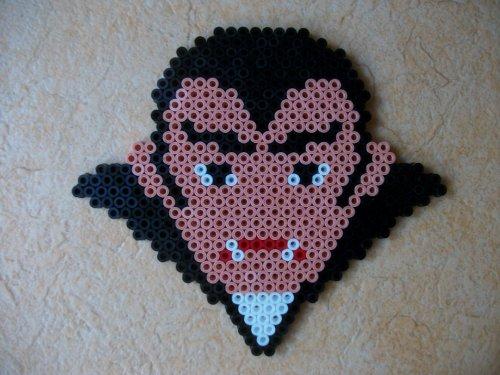 perles hama vampire